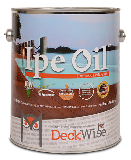 Ipe Oil™ Hardwood Deck Finish