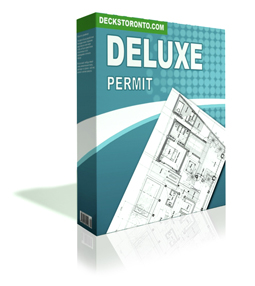 Deck Permit Drawing Deluxe Package