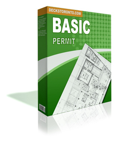 Deck Permit Drawing Basic Package