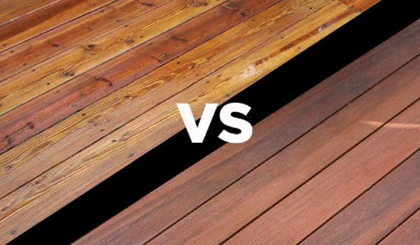 wood boards vs composte composite boards