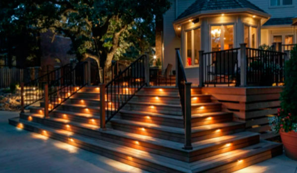 decking light for veranda terrace and outdoor space