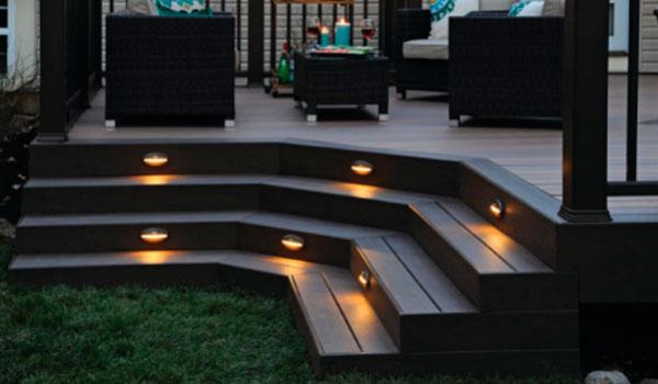 timbertech and azek decking light
