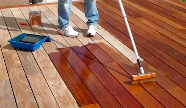 what is ipe oil for wood deck and when to apply it