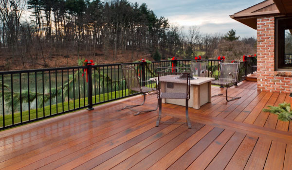 what is ipe wood decking for veranda and terrace
